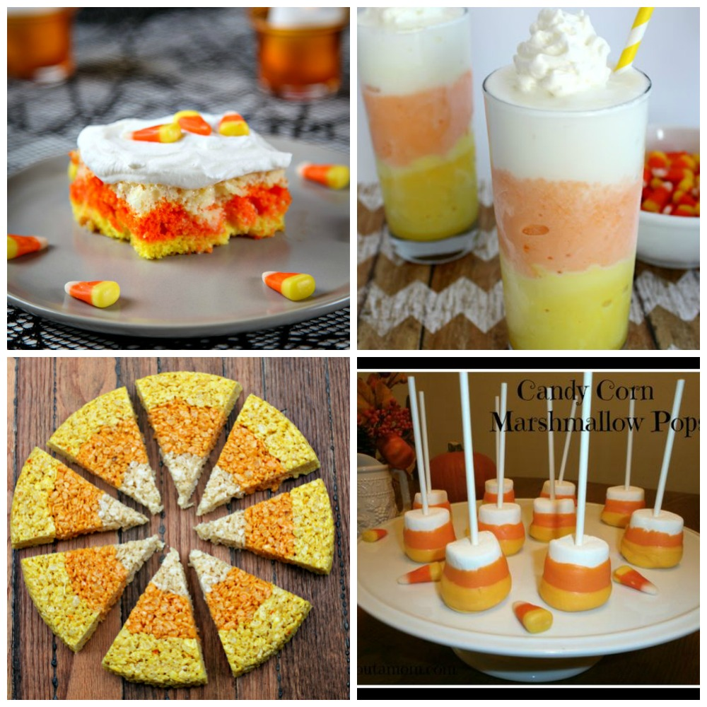 Halloween Candy Corn Recipes